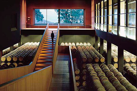 How can architecture and design help wine?