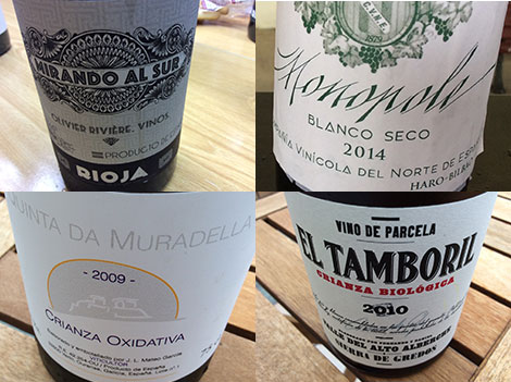 Sherry meets Rioja and other flor stories