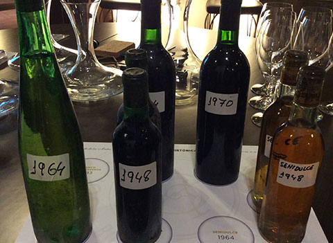 Getting a taste for old Paternina vintages at Conde de los Andes in Rioja