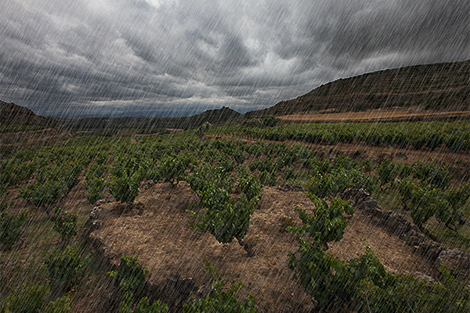 The rain in Spain misses the plain