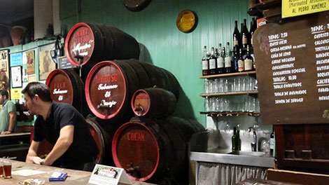 Bodegas and tapas welcome visitors to Jerez