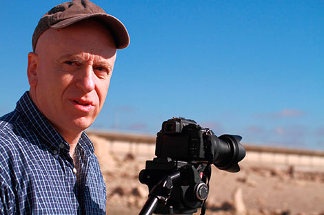 Zev Robinson films wine as an agricultural product