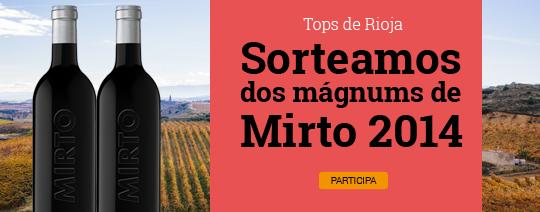 Sorteamos dos mágnums de Mirto 2014